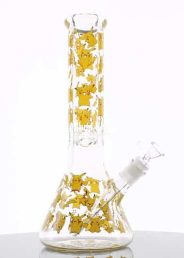 Printed Yellow Bong