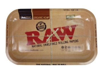 Raw Metal Rolling Tray Large - Shoprite Smoke Shop