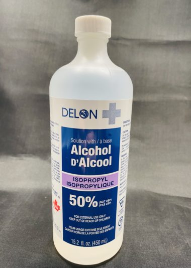 Isopropyl Rubbing Alcohol 50%