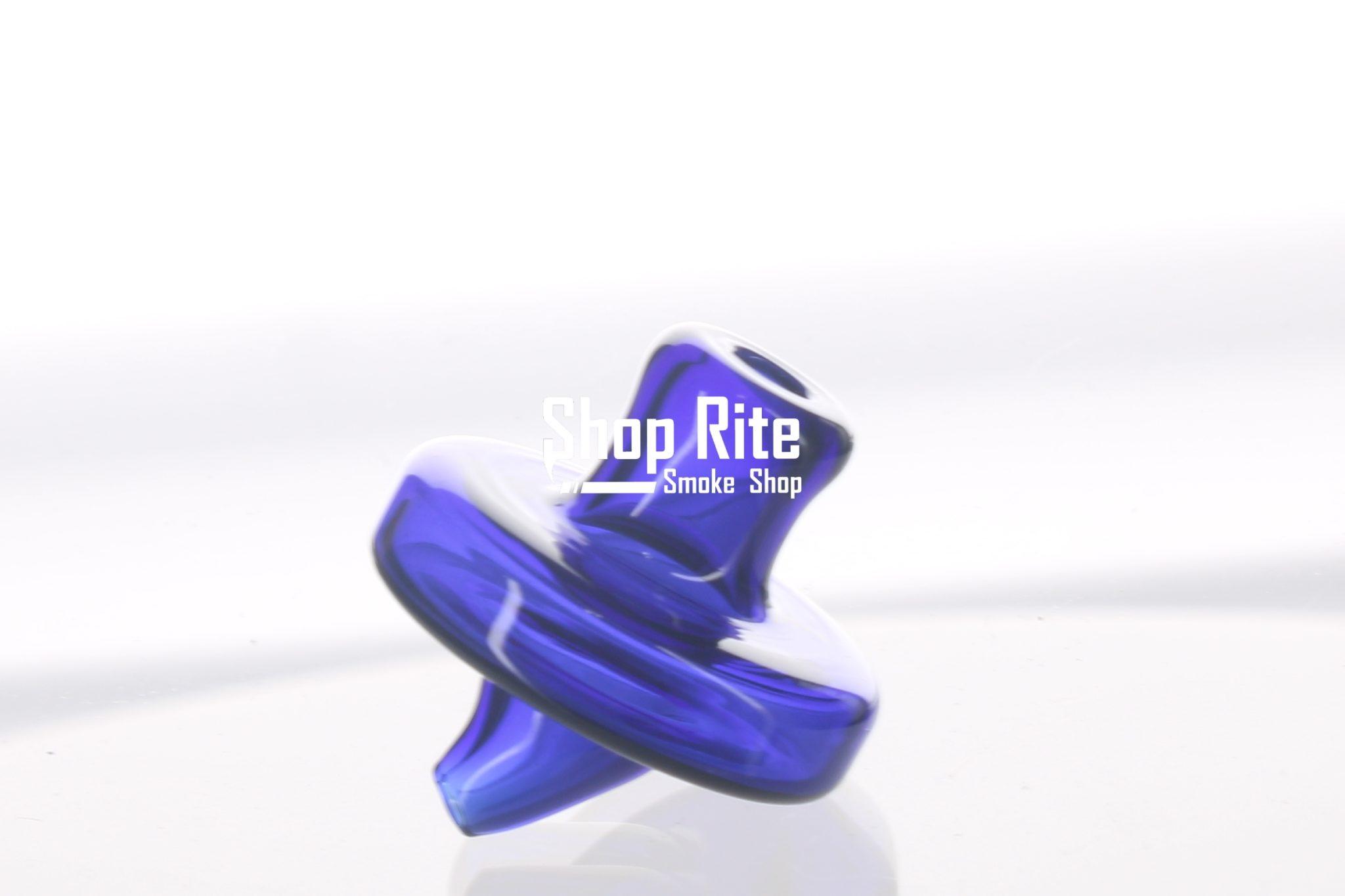 Blue-carb-cap