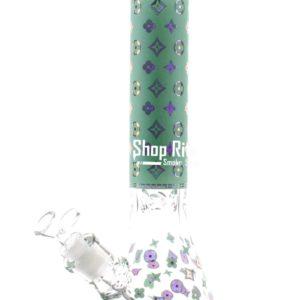 Louis Vuitton Themed bong Green