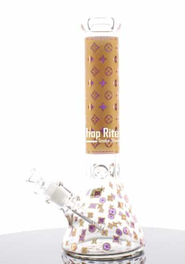 Louis Vuitton Themed Gold bong