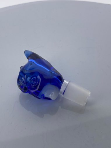 Thick Glass 18mm bowl Blue