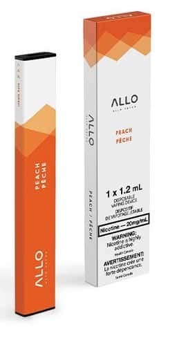 Allo Disposable - Peach 20mg