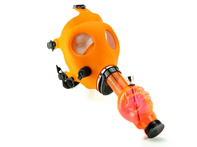 Gas Mask Acrylic Water Pipe