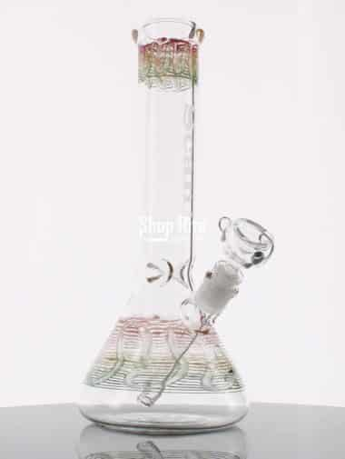 Transparent Red Bong