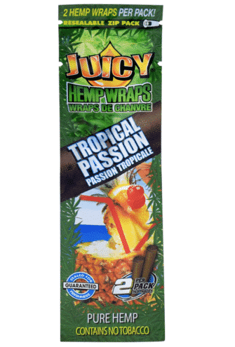 JUICY HEMP WRAPS – TROPICAL PASSION