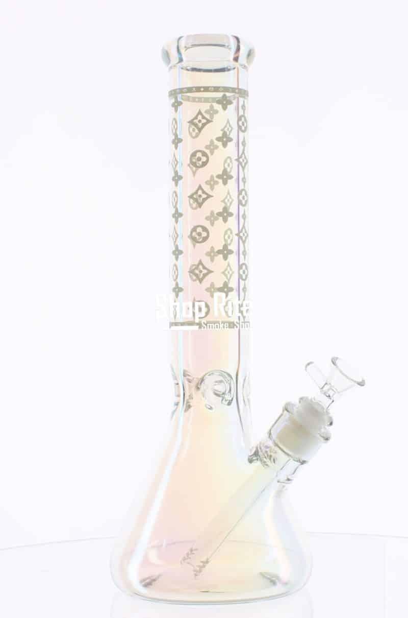 Louis Vuitton Theme Clear Bong