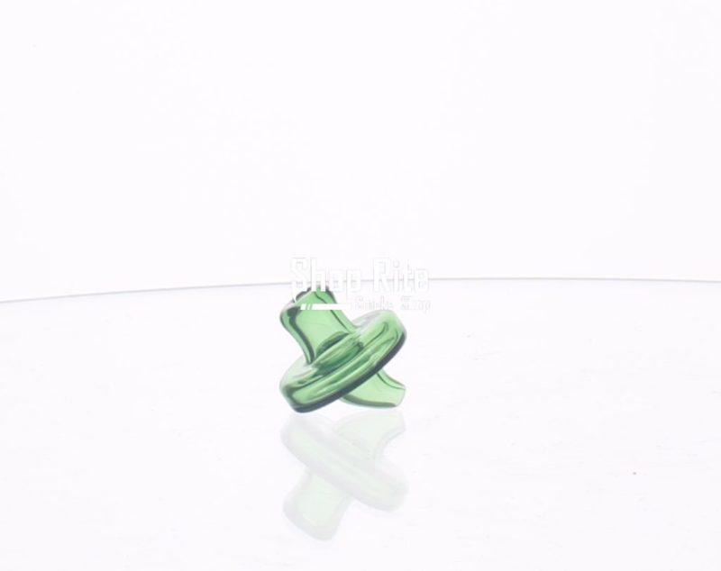 Green carb cap