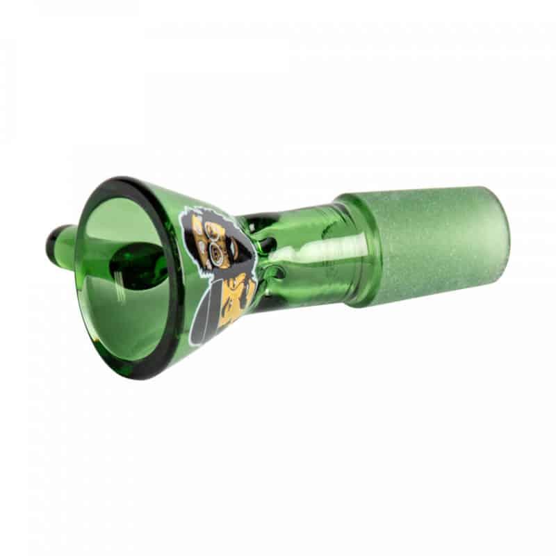 CHEECH & CHONG GLASS 14mm Pull-Out Green