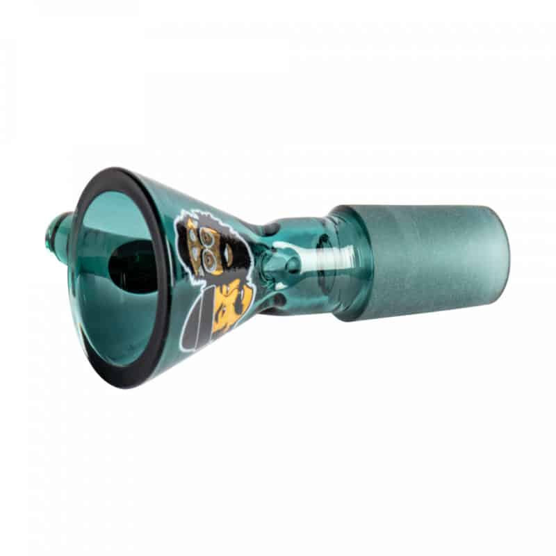 CHEECH & CHONG GLASS 14mm Pull-Out Teal