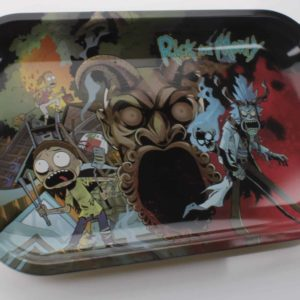Rick And Morty Rolling Tray Medium