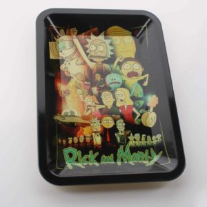 Rick And Morty Rolling Tray Small