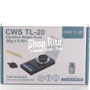 CWS TL-20 20G X 0.001G SCALE